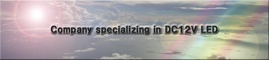 セブンブレッシングスは、DC12V専用LED照明設備を専門とした会社です。